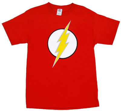 Flash Logo - Flash - DC Comics T-shirt