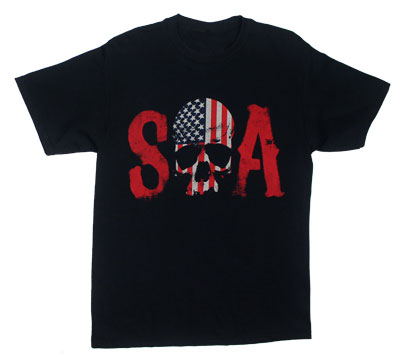 Skull Flag - Sons Of Anarchy T-shirt